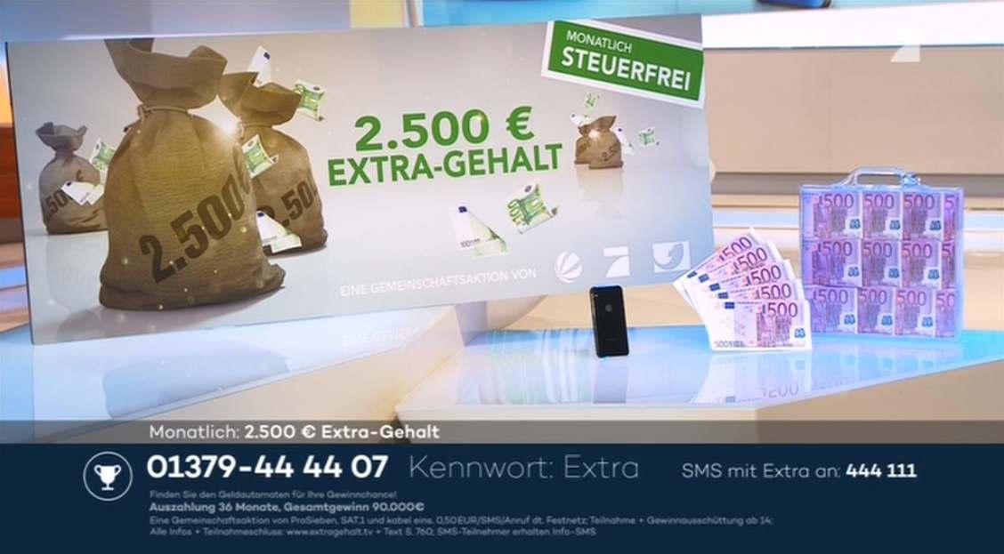 Extra Gehalt Tv Gewinner