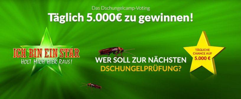 Winario Screenshot Dschungelcamp Voting