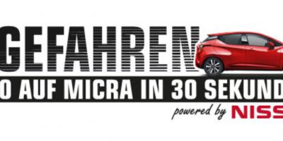 Abgefahren - von 0 auf Micra in 30 Sekunden
