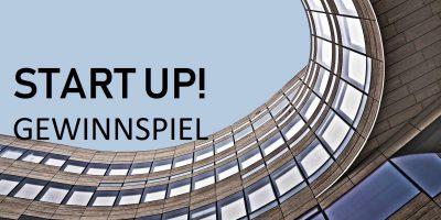 Start Up Gewinnspiel Symbolgrafik